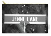 Je - A Street Sign Named Jenni Carry-all Pouch