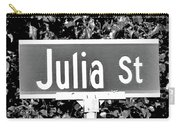 Ju - A Street Sign Named Julia Carry-all Pouch