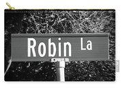 Ro - A Street Sign Named Robin Carry-all Pouch