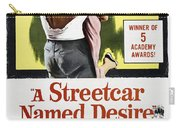 A Streetcar Named Desire Portrait Poster Carry-all Pouch