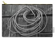 A Study Of Wire In Gray Carry-all Pouch