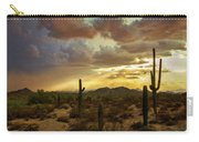 A Summer Evening In The Sonoran  Carry-all Pouch