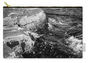 A Summer's Day At Nubble Light, York, Maine  -67969-bw Carry-all Pouch