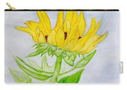 A Sunflower Blessing Carry-all Pouch