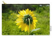 A Sunflower's Backside Carry-all Pouch