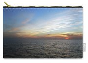 A Sunset On The Last Day At Sea Carry-all Pouch