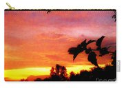 A Sunset With A Different Mood Carry-all Pouch