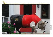 A Swiss Cow In New Glarus Wi Carry-all Pouch