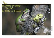 A Terrific Frog #1 Carry-all Pouch