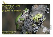 A Terrific Frog #2 Carry-all Pouch