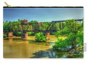 A Time Gone By Railroad Bridge Lumber City Georgia Carry-all Pouch