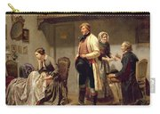 A Toast To The Engaged Couple Carry-all Pouch
