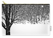 A Tree In Snowy Winter Carry-all Pouch