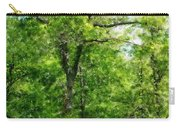 A Tree In The Woods At The Hacienda  Carry-all Pouch