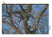 A Tree In Winter- Vertical Carry-all Pouch