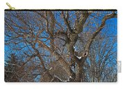 A Tree In Winter- Horizontal Carry-all Pouch