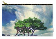A Tree On The Seashore Reef Carry-all Pouch