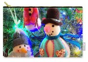 A Trio Of Snowmen Carry-all Pouch