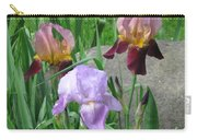 A Trios Of Irises Carry-all Pouch