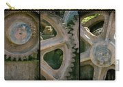 A Triptych Of Old Gears Carry-all Pouch