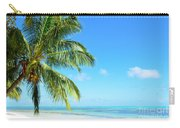 A Tropical Palm Tree Beach Carry-all Pouch