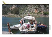 A Turkish Fishing Boat On The Dalyan River Carry-all Pouch