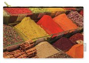 A Typical Set Of Shops In Istanbul Spice Market Carry-all Pouch