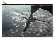 A U.s. Air Force Kc-10 Refuels A B-1b Carry-all Pouch by Stocktrek Images