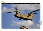A U.s. Army Ch-47 Chinook Helicopter Carry-all Pouch
