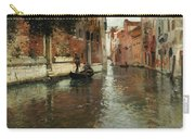 A Venetian Backwater  Carry-all Pouch by Fritz Thaulow