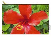 A Very Red Flower Carry-all Pouch