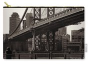 A View From The Bridge - Manhattan Bridge New York Carry-all Pouch