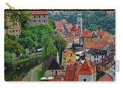 A View Of Cesky Krumlov And Castle In The Czech Republic Carry-all Pouch