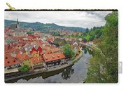 A View Of Cesky Krumlov And The Vltava River In The Czech Republic Carry-all Pouch