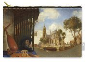 A View Of Delft With A Musical Instrument Seller's Stall Carry-all Pouch