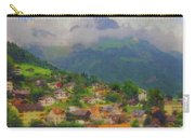 A View Of Engelberg Switzerland Carry-all Pouch