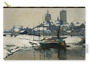 A View Of Neuss In Winter Carry-all Pouch