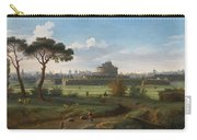 A View Of The Castel Sant'angelo Carry-all Pouch