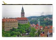 A View Of The Cesky Kromluv Castle Complex In The Czech Republic Carry-all Pouch