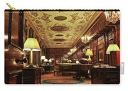 A View Of The Chatsworth House Library, England Carry-all Pouch