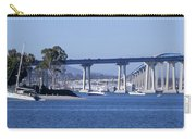 A View Of The South End Of The San Diego-coronado Bridge Carry-all Pouch