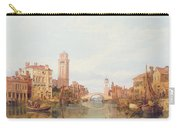 A View Of Verona Carry-all Pouch by George Clarkson Stanfield