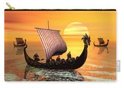 The Vikings Are Coming Carry-all Pouch