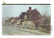 A Village Street Kent Carry-all Pouch by Helen Allingham
