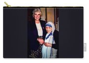 A Vist With Mother Teresa Carry-all Pouch