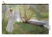 A Walk By The River Carry-all Pouch