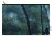 A Walk In The Woods Madame Lecoeur And Her Children 1870 Carry-all Pouch