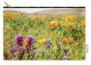 A Walk Though The Poppy Fields Carry-all Pouch