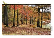 A Walk Through Autumn  Carry-all Pouch