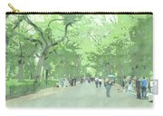 A Walk Through Central Park Carry-all Pouch